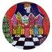 DENY Designs Renie Britenbucher Christmas Angel Wall Clock