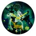 <strong>Randi Antonsen The Nordic Night Wall Clock</strong> by DENY Designs