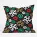 DENY Designs Zoe Wodarz Cozy Cabin Snowflakes Throw Pillow