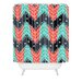 <strong>Sam Osborne Christmas Trees Woven Polyester Shower Curtain</strong> by DENY Designs