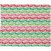 DENY Designs Andi Bird Sugar Plum Stripe Plush Fleece Throw Blanket