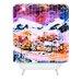 DENY Designs Ginette Fine Art Winter Star Woven Polyester Shower Curtain