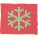 DENY Designs Ingrid Padilla Snowflake Plush Fleece Throw Blanket