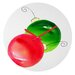 Laura Trevey Deck The Halls Wall Clock by DENY Designs