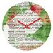<strong>Susanne Kasielke Mistletoe Dictionary Art Wall Clock</strong> by DENY Designs