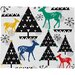 <strong>Zoe Wodarz Geo Woodland Trees Plush Fleece Throw Blanket</strong> by DENY Designs