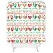 DENY Designs Zoe Wodarz Geo Pop Birds Woven Polyester Shower Curtain