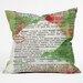 Susanne Kasielke Mistletoe Dictionary Art Throw Pillow by DENY Designs