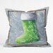 <strong>Madart Inc. Vintage Stocking Throw Pillow</strong> by DENY Designs