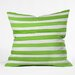 <strong>Social Proper Spruce Stripes Throw Pillow</strong> by DENY Designs