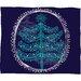 DENY Designs Rachael Taylor Decorative Tree Plush Fleece Throw Blanket