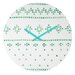 <strong>Social Proper Holiday Sweater Wall Clock</strong> by DENY Designs
