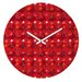 <strong>Julia Da Rocha Christmas Trees Wall Clock</strong> by DENY Designs