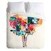 Randi Antonsen Lightweight Flower Duvet Cover by DENY Designs