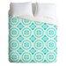 DENY Designs Elisabeth Fredriksson Lightweight Crystal Flowers Duvet Cover