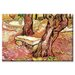 <strong>The Stone Bench in the Garden of Saint Paul Hospital Painting Print...</strong> by Buyenlarge