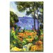 <strong>A View through the Trees of Painting Print on Canvas</strong> by Buyenlarge