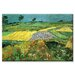 The Plains at Auvers Canvas Wall Art