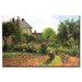 The Artist Garden at Eragny Canvas Wall Art