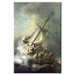 Christ in a Storm on the Sea of Galilee Canvas Wall Art