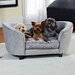 Enchanted Home Pet Quicksilver Dog Sofa Bed