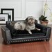 <strong>Noir Dog Sofa Bed</strong> by Enchanted Home Pet