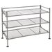 3 Shelf Mesh Shoe Rack