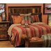 <strong>Wooded River</strong> Bandera 4 Piece Bedding Set
