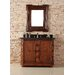 "<strong>James Martin Furniture</strong> Charleston 42"" Single Vanity Set with Stone Top"