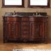 "<strong>James Martin Furniture</strong> Classico 60"" Double Granite Vanity Set"