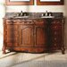 """<strong>James Martin Furniture</strong> Classico 60"""" Double Granite Vanity Set"""