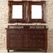 """<strong>James Martin Furniture</strong> Castilian 60"""" Double Vanity Set with Wood Top"""