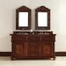 """<strong>James Martin Furniture</strong> Continental 60"""" Double Vanity Set with Wood Top"""