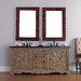 """<strong>Normandy 72"""" Double Vanity Set with Stone Top</strong> by James Martin Furniture"""