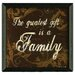 <strong>The Greatest Gift by Michele Deaton Framed Graphic Art</strong> by Timeless Frames