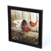 Timeless Frames Cardinals by John Rossin Framed Photographic Print