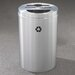 <strong>RecyclePro Dual Stream 33 Gallon Multi Compartment Recycling Bin</strong> by Glaro, Inc.