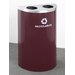 RecyclePro Value Series Dual  Stream Recycling Receptacle
