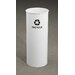 <strong>RecyclePro Single Stream Open Top 11 Gallon Industrial Recycling Bin</strong> by Glaro, Inc.