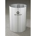 <strong>Glaro, Inc.</strong> RecyclePro Single Stream Open Top 39 Gallon Industrial Recycling Bin