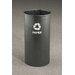 <strong>RecyclePro Single Stream Open Top 9 Gallon Recycling Waste Basket</strong> by Glaro, Inc.