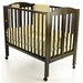 DO NOT SET LIVE!3-in-1 Portable Folding Crib in Espresso