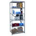 "<strong>Hallowell</strong> Hi-Tech Shelving Heavy-Duty Open Type 87"" H 6 Shelf Shelving Unit"