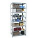 "<strong>Hallowell</strong> Hi-Tech Shelving Heavy-Duty Open Type 87"" H 7 Shelf Shelving Unit"