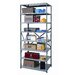 Hi-Tech Heavy-Duty Open Type 8 Shelf Shelving Starter Uni by Hallowell