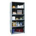 "Hi-Tech Medium-Duty Closed Type 87"" H 6 Shelf Shelving Unit Starter by Hallowell"