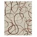AMER Rugs Xara Design Brown, Hand-Knotted Rug