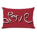 <strong>OneBellaCasa.com</strong> Hand Painted love Pillow