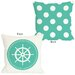 <strong>Polka Dot Back Wheel Pillow</strong> by One Bella Casa