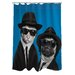 <strong>OneBellaCasa.com</strong> Pets Rock Brothers Polyester Shower Curtain